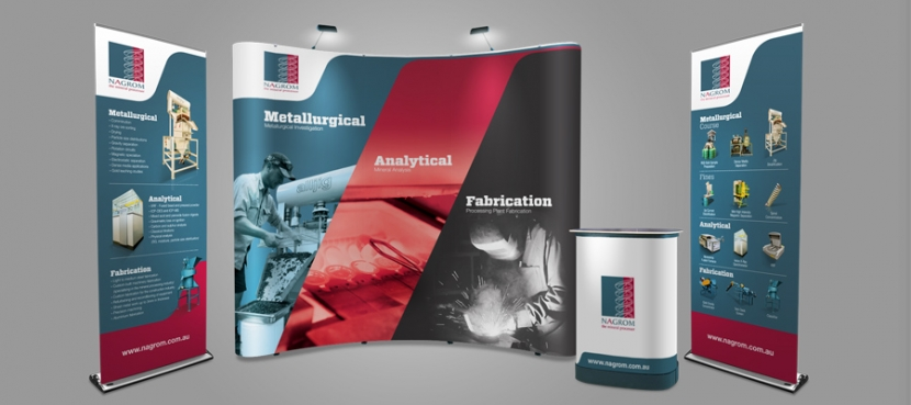 exhibition wall banner we print banners australia s cheapest banners